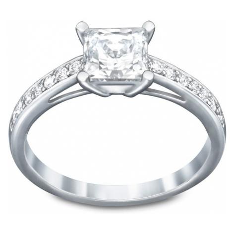 Swarovski Attract White Crystal Square Ring
