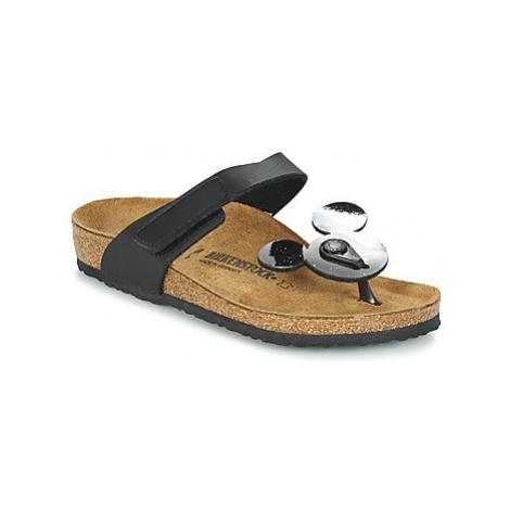 Birkenstock TOFINO MICKEY girls's Children's Flip flops / Sandals in Black