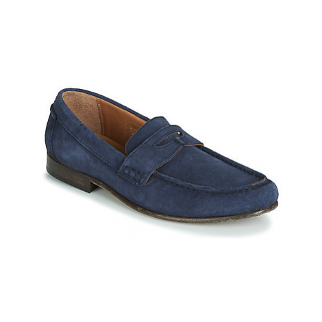 Hudson SEINE men's Loafers / Casual Shoes in Blue Hudson London