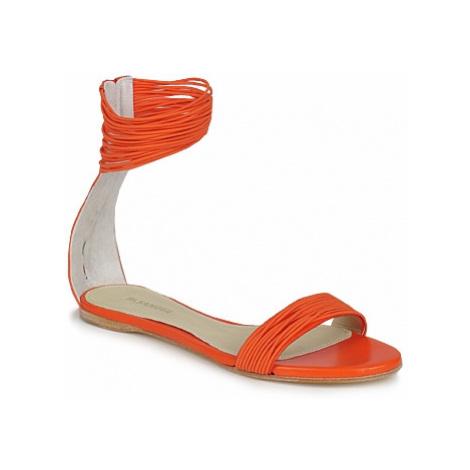 Jil Sander JS16116 women's Sandals in Orange