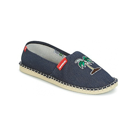 Havaianas ORIGINE FUN women's Espadrilles / Casual Shoes in Blue