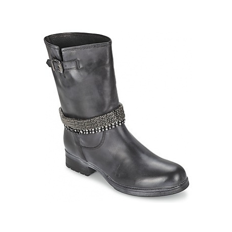 Meline ALIN women's Mid Boots in Black