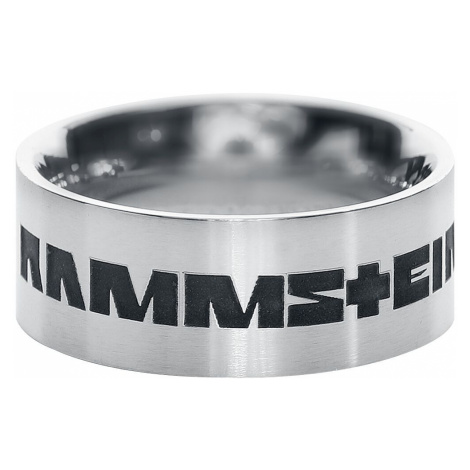 Rammstein Rammstein Ring silver coloured