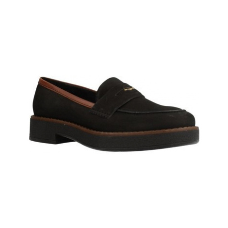 Geox D ADRYA women's Loafers / Casual Shoes in Black
