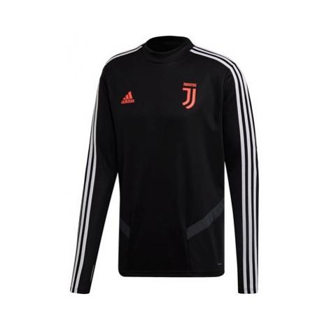 Juventus Training Top - Black Adidas