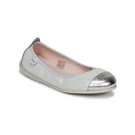 Citrouille et Compagnie ISAPRO girls's Children's Shoes (Pumps / Ballerinas) in Silver