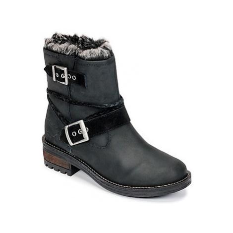 Superdry HURBIS BOOT women's Mid Boots in Black