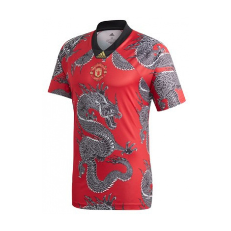 Manchester United Chinese New Year Dragon Jersey - Red Adidas