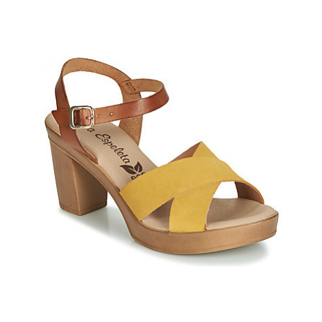 Lola Espeleta RICHELIN women's Sandals in Yellow