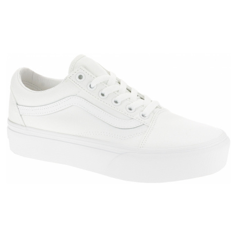 shoes Vans Old Skool Platform - True White