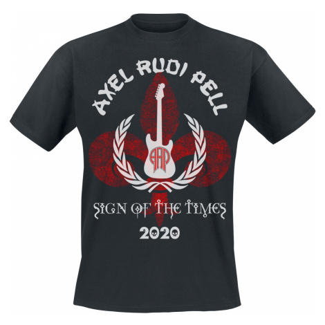 Axel Rudi Pell - Sign Of Times - T-Shirt - black