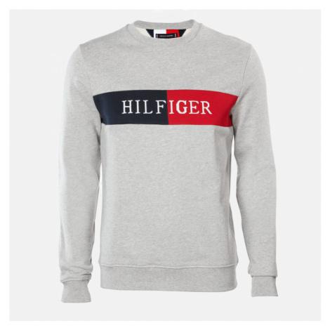 Tommy Hilfiger Men's Intarsia Sweatshirt - Medium Grey