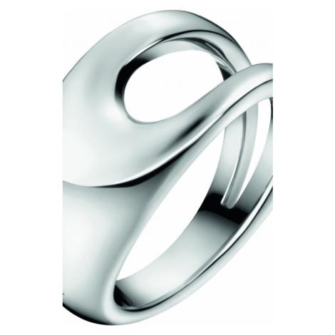 Ladies Calvin Klein Stainless Steel Size P Shade Ring KJ3YMR000108