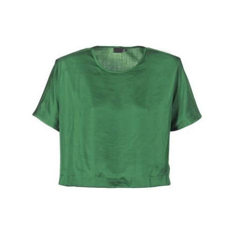 G-Star Raw COLLYDE WOVEN TEE women's Blouse in Green