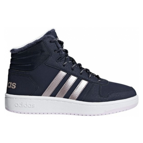 adidas HOOPS MID 2.0 K blue - Kids' leisure shoes