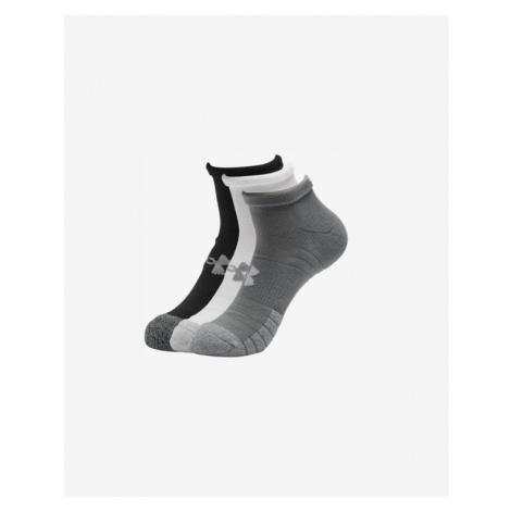 Under Armour HeatGear® Set of 3 pairs of socks Black White Grey