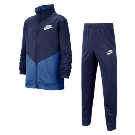Nike B NSW CORE TRK STE PLY FUTURA blue - Kids' tracksuit