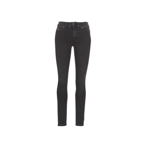Diesel D ROISIN women's Skinny Jeans in Black