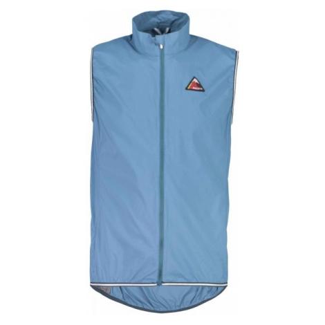 Maloja MAX M. blue - Ultra lightweight wind-block vest