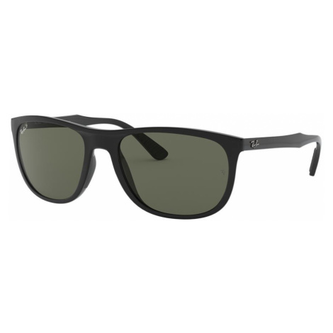 Ray Ban Man RB4291 - Frame color: Black, Lens color: Green, Size 58-19/145
