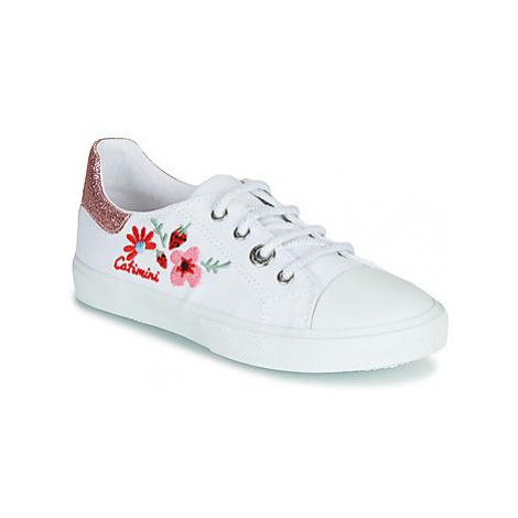 Catimini SAXIFAGE girls's Children's Shoes (Trainers) in White