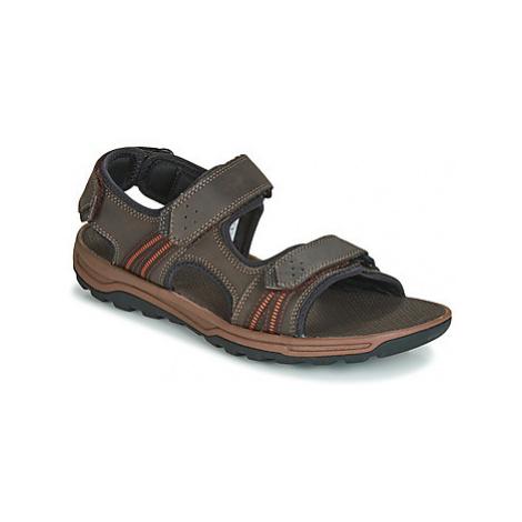 Rockport TT 3 STRAP SANDAL men's Sandals in Brown