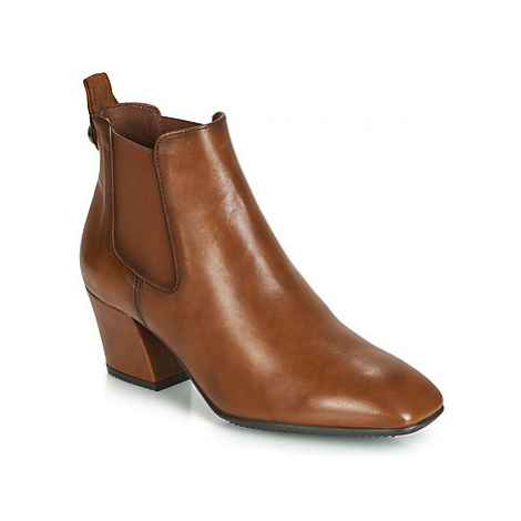 Hispanitas ANDREA women's Low Ankle Boots in Brown