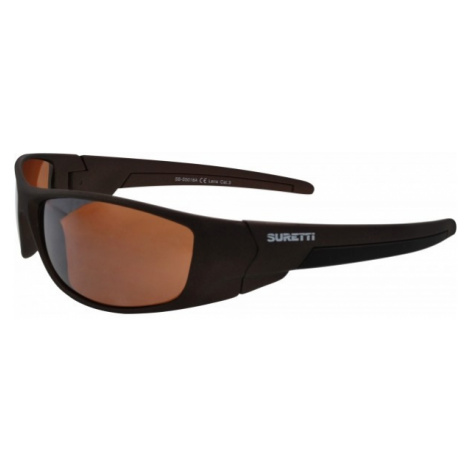 Suretti S5018 orange - Sporty sunglasses