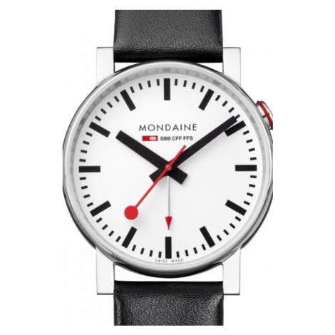 Mens Mondaine Swiss Railways Alarm Watch A4683035211SBB