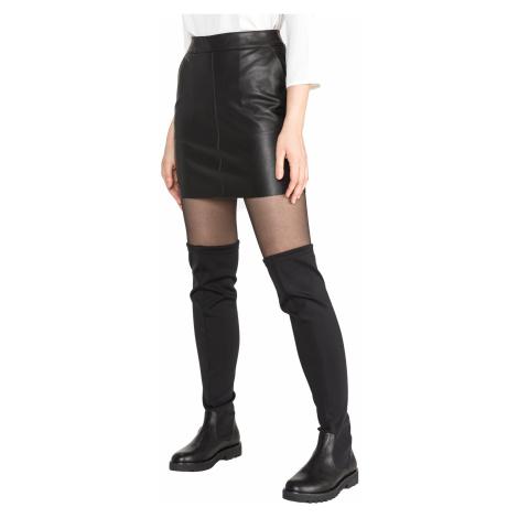 Vero Moda Yours Butter Skirt Black