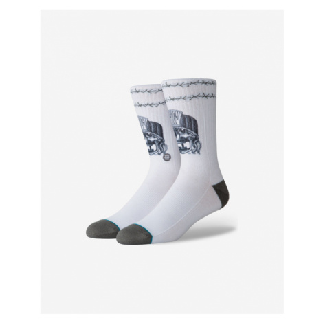 Stance Mercy Socks White