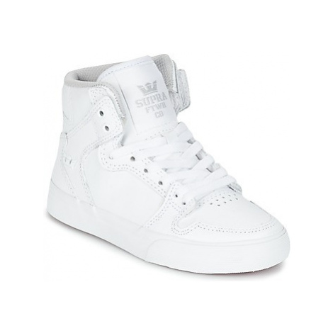 Supra KIDS VAIDER girls's Children's Shoes (High-top Trainers) in White