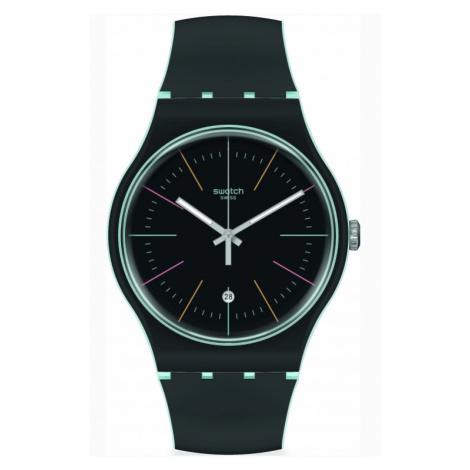 Swatch Black Layered Watch SUOS402