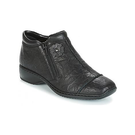 Rieker DORAN women's Low Boots in Black