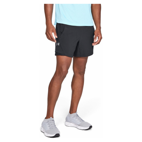 "Under Armour Speedpocket Linerless 6"" Short pants Black"