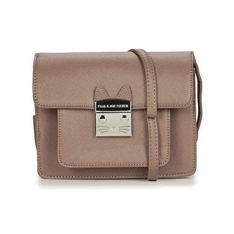 Paul Joe Sister IGNACE women's Shoulder Bag in Brown Paul & Joe