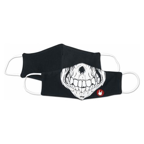 EMP - Skull - Mask - black-white