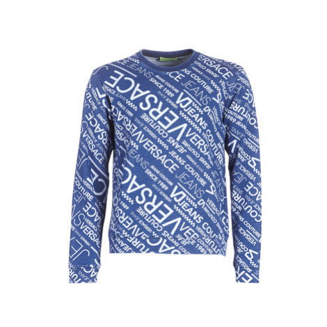 Versace Jeans Couture B7GTA7F2-HR522 men's Sweatshirt in Blue