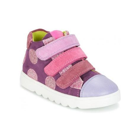 Agatha Ruiz de la Prada 181950 HOUSE girls's Children's Shoes (High-top Trainers) in Purple