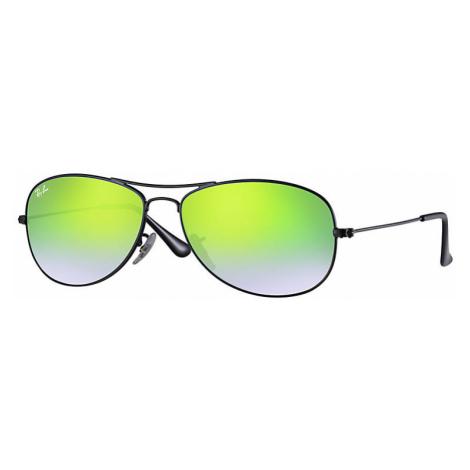 Ray-Ban Cockpit flash lenses gradient Unisex Sunglasses Lenses: Green, Frame: Black - RB3362 002