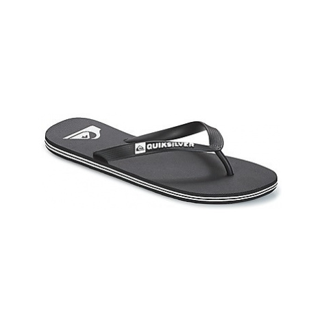 Quiksilver MOLOKAI M SNDL XKKW men's Flip flops / Sandals (Shoes) in Black