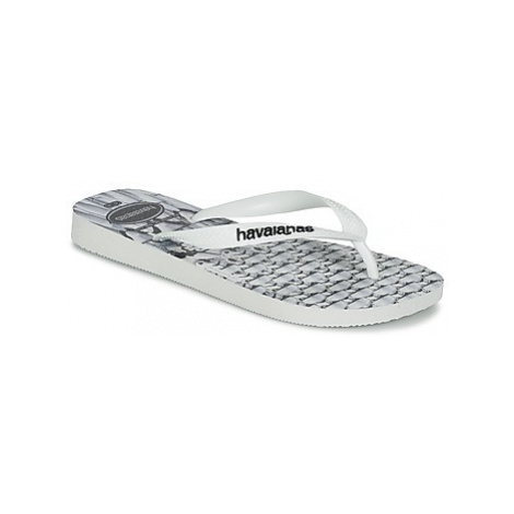 Havaianas STAR WARS boys's Children's Flip flops / Sandals in White