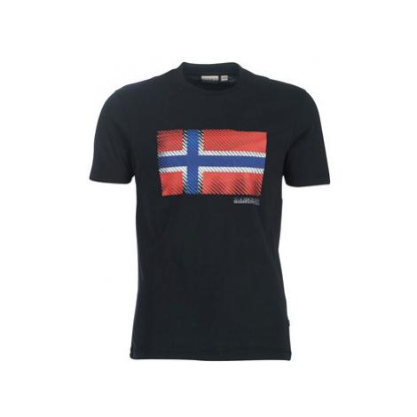Napapijri SIBU men's T shirt in Black
