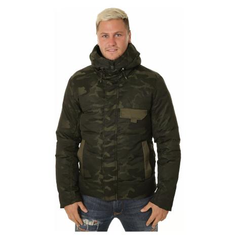 jacket Puma Streetstyle 480 Camo Down - Forest Night - men´s