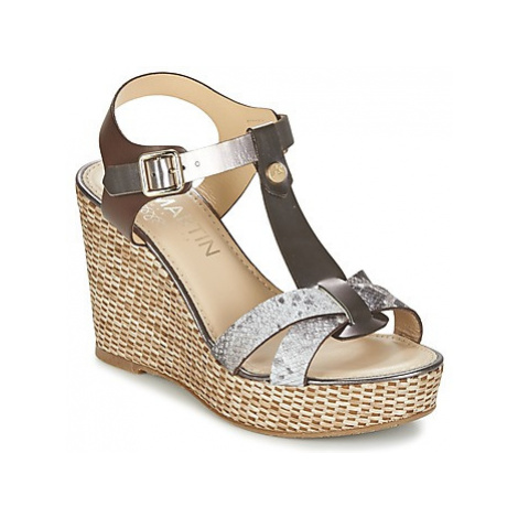 JB Martin OURAGAN women's Sandals in Brown