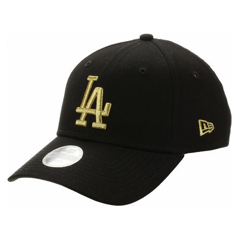 cap New Era 9FO Metallic MLB Los Angeles Dodgers - Black/Gold - women´s