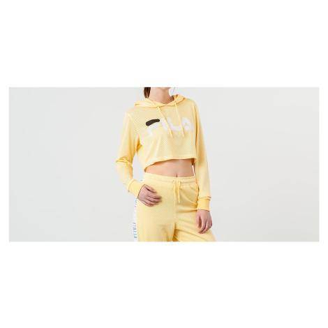 FILA Noemi Cropped Hoodie Pale Banana