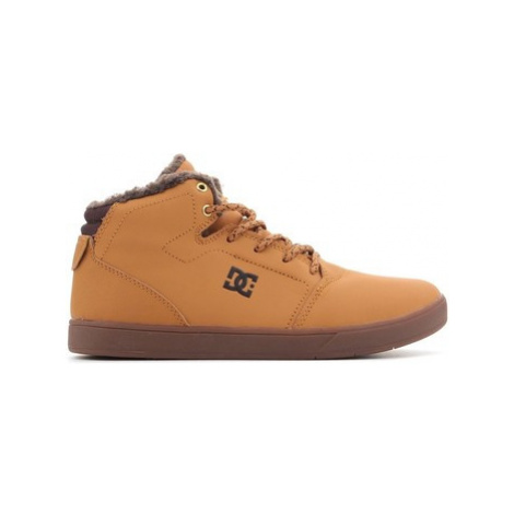 DC Shoes DC CRISIS WNT ADBS100116 WD4 men's Shoes (High-top Trainers) in Brown