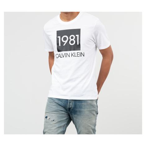 Calvin Klein 1981 Tee White