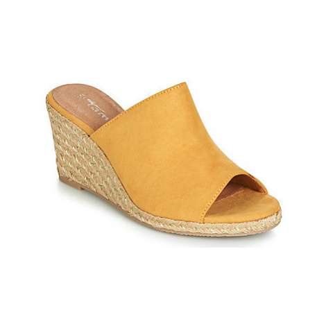 Tamaris LIVIA women's Sandals in Yellow